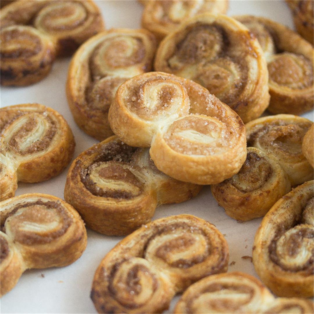 French Cookies – Palmiers