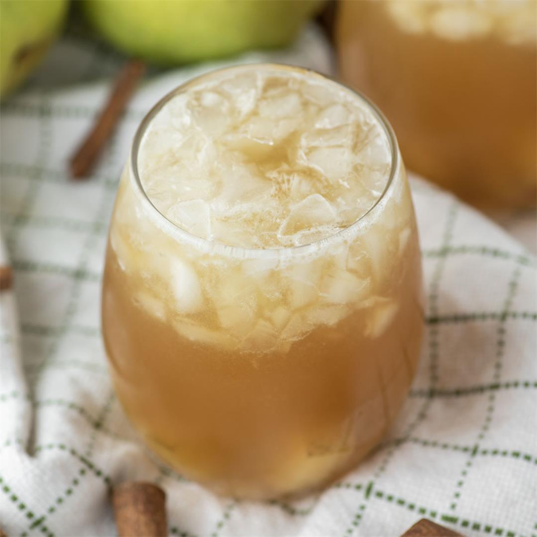 Pear Bourbon Cocktail
