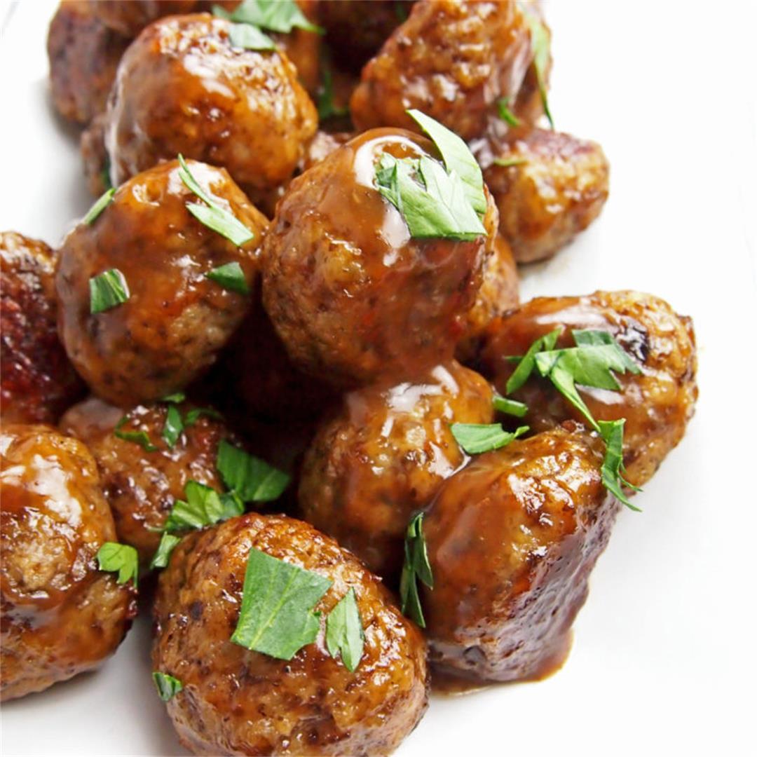 Chicken Marsala Meatballs