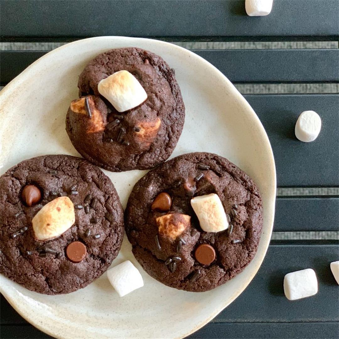 Vegan Hot Cocoa Cookies