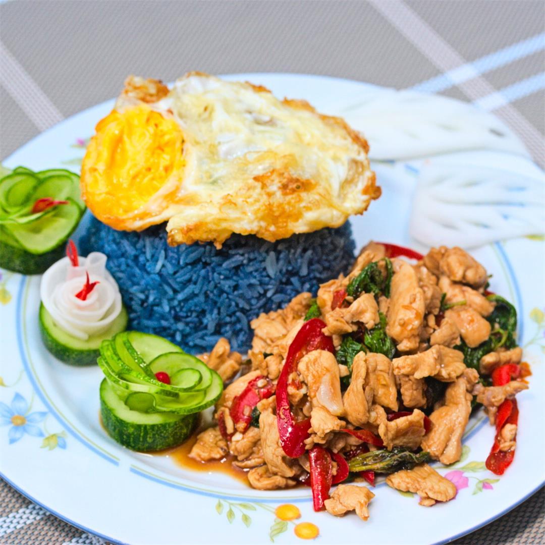 Easy Thai Chicken with Basil Recipe – Pad Krapow Gai Stir-Fry