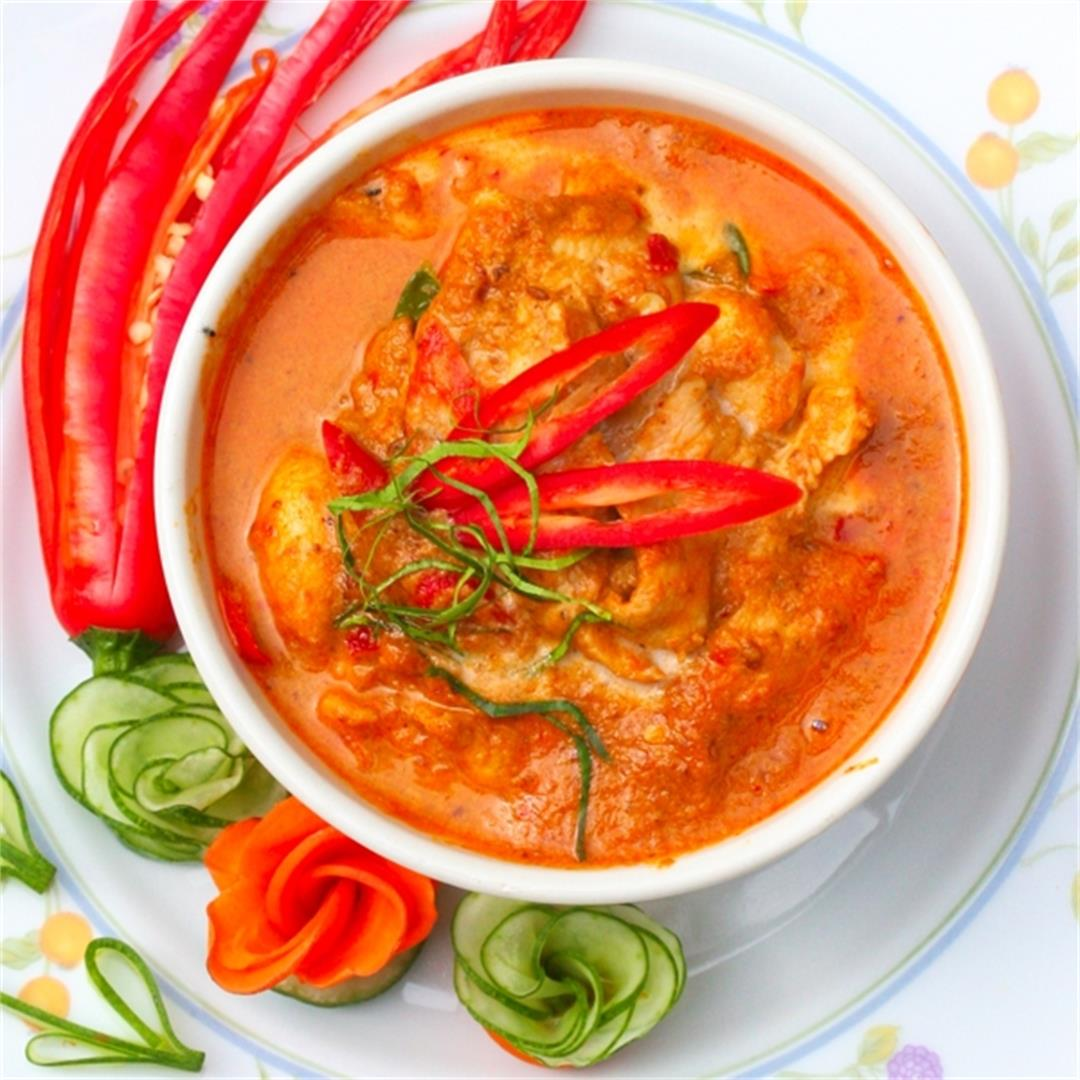 Best Thai Chicken Panang Curry Recipe