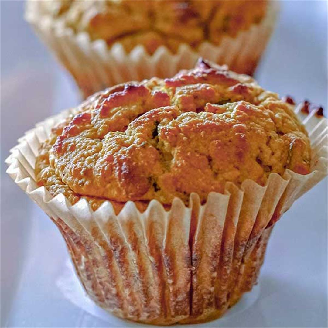 Healthy Gluten-Free Morning Glory Muffins