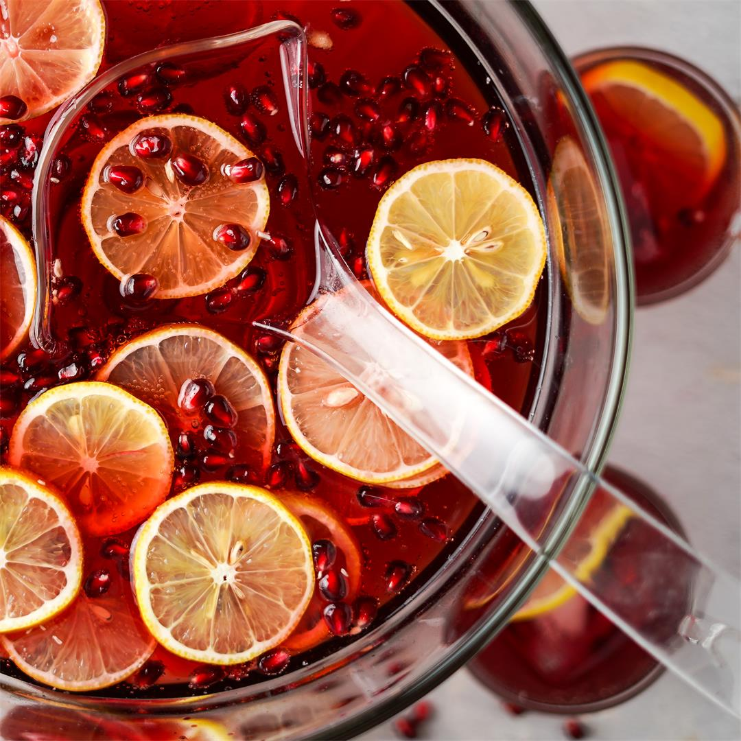 Pomegranate Cranberry Punch