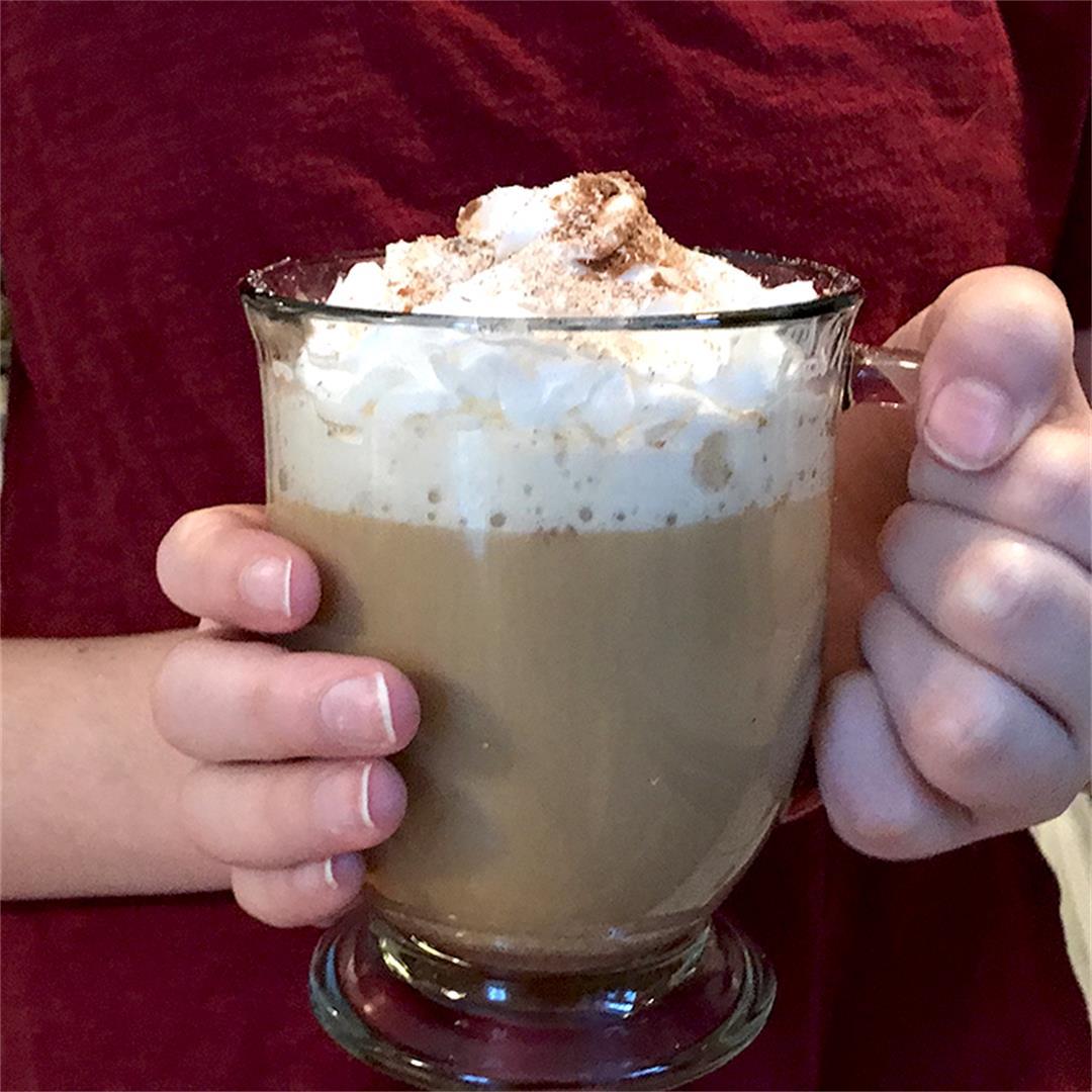 How to Make Eggnog Coffee