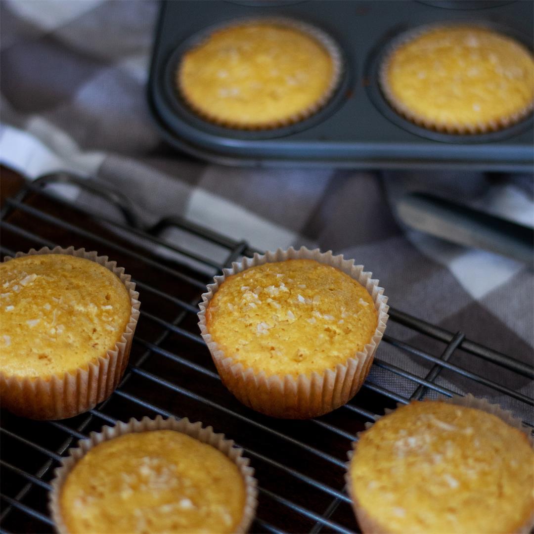 Lemon Coconut Muffins