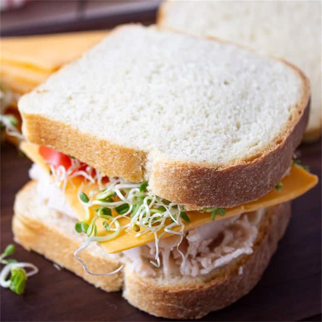 Homemade White Sandwich Bread