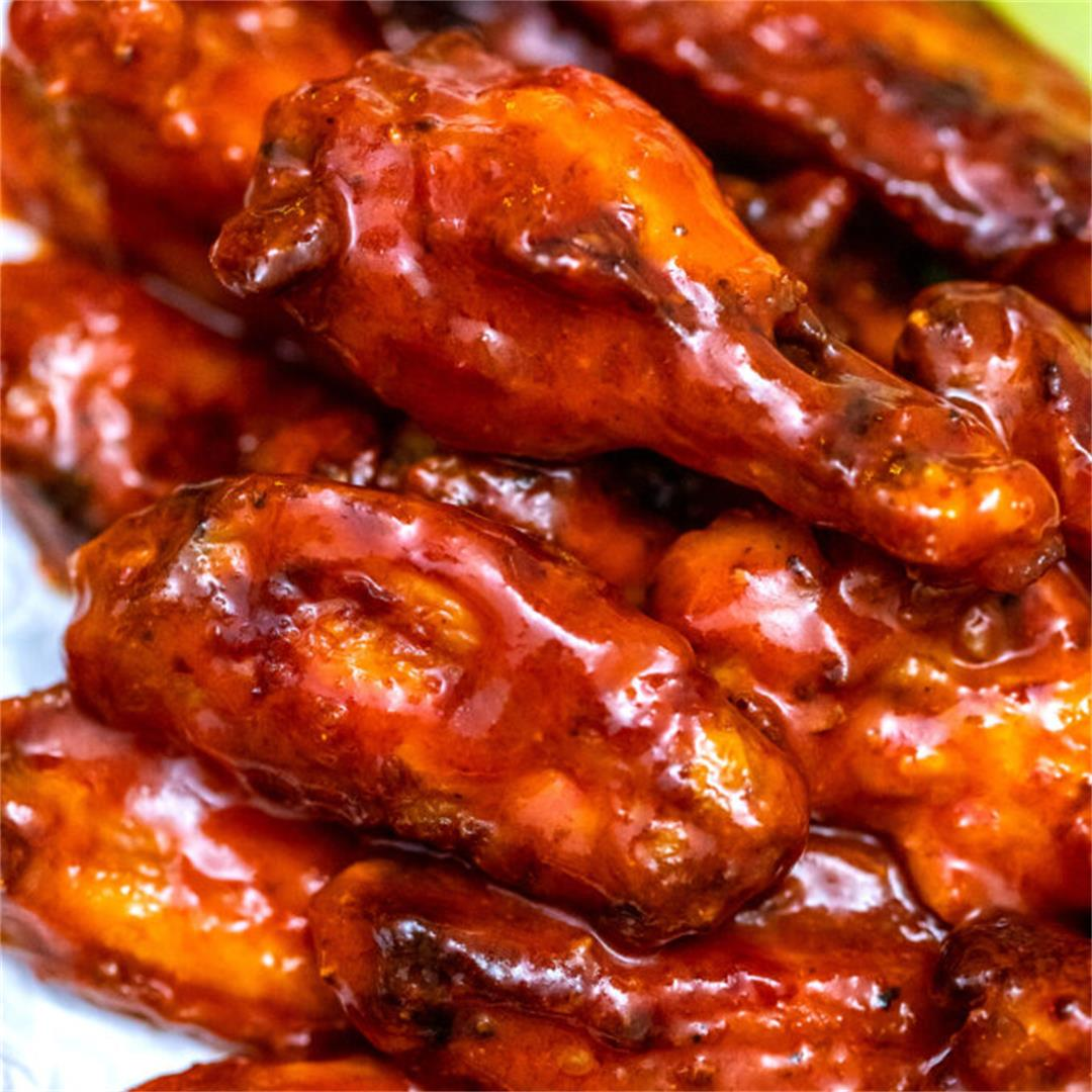Baked Buffalo Wings Recipe [Video]