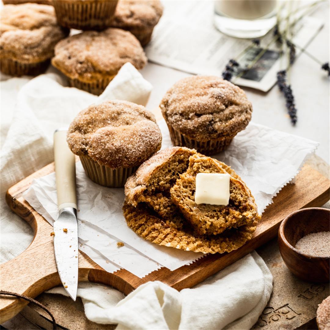 Gluten Free Muffins Cinnamon Swirl