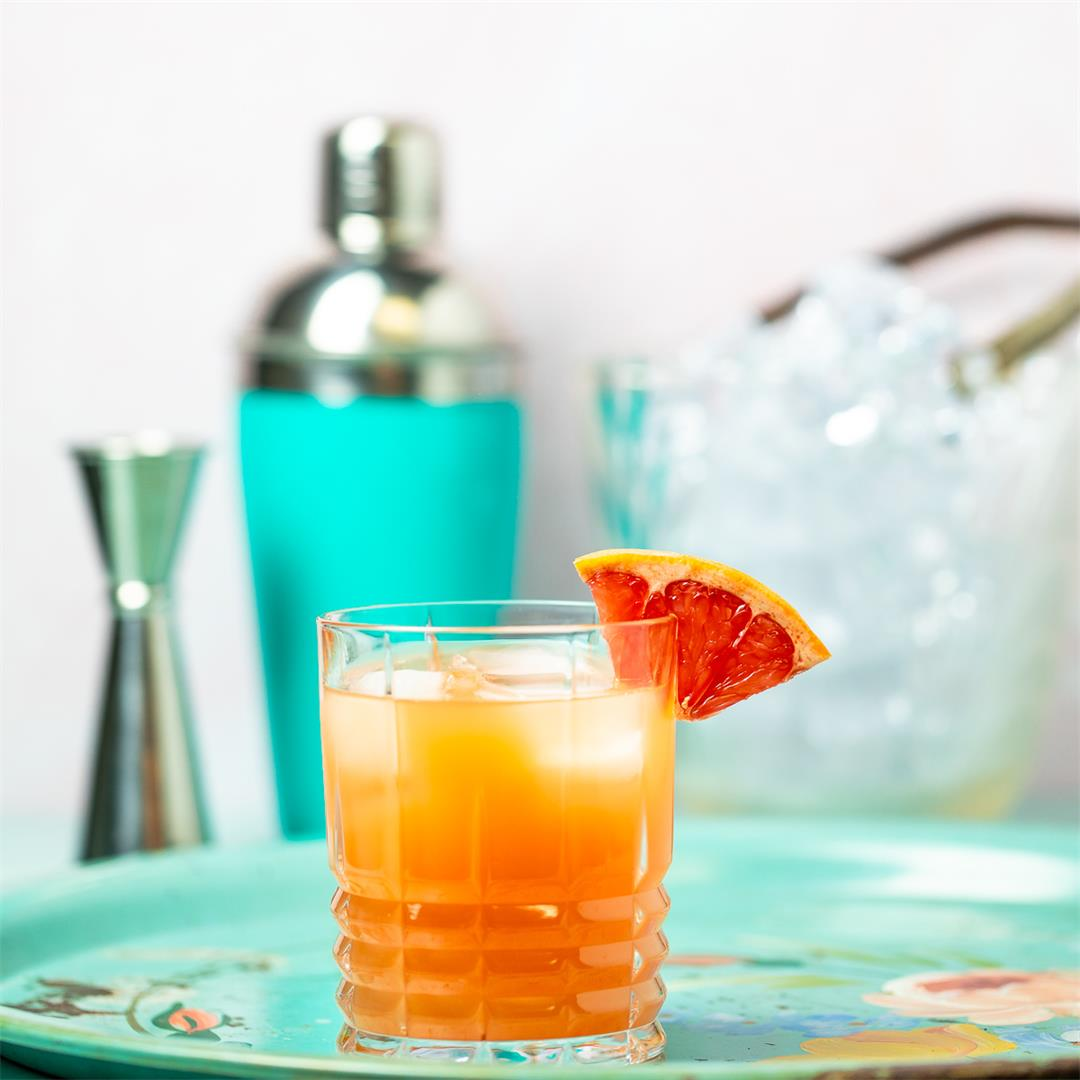 Tangy New England Vodka Sour