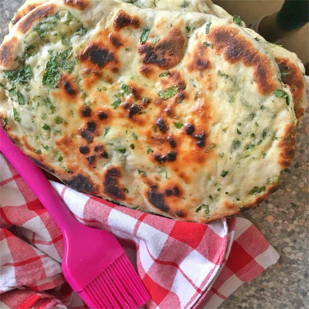 Coriander Naan Bread — Tasty Food for Busy Mums Simple