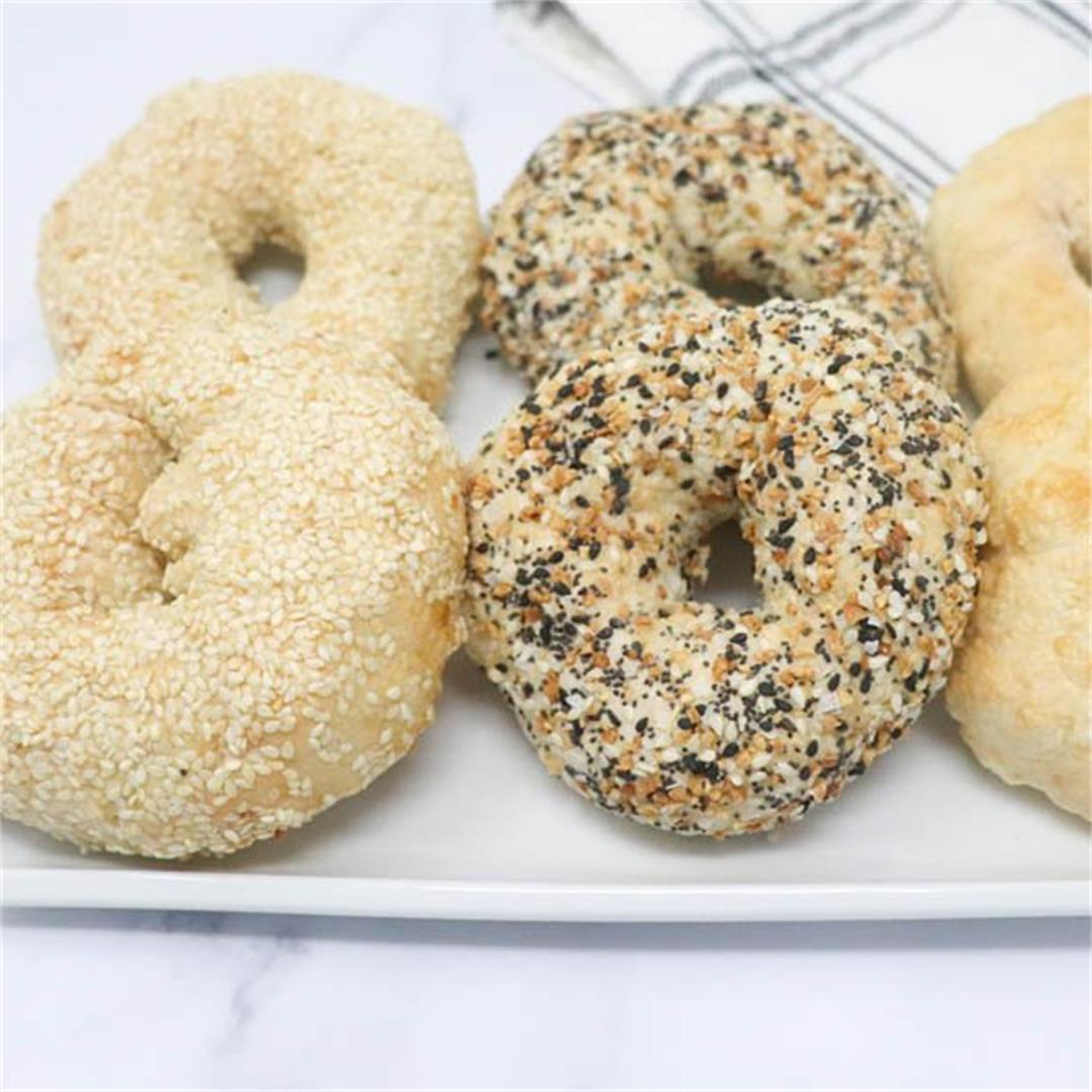 Easy Air Fryer Bagels