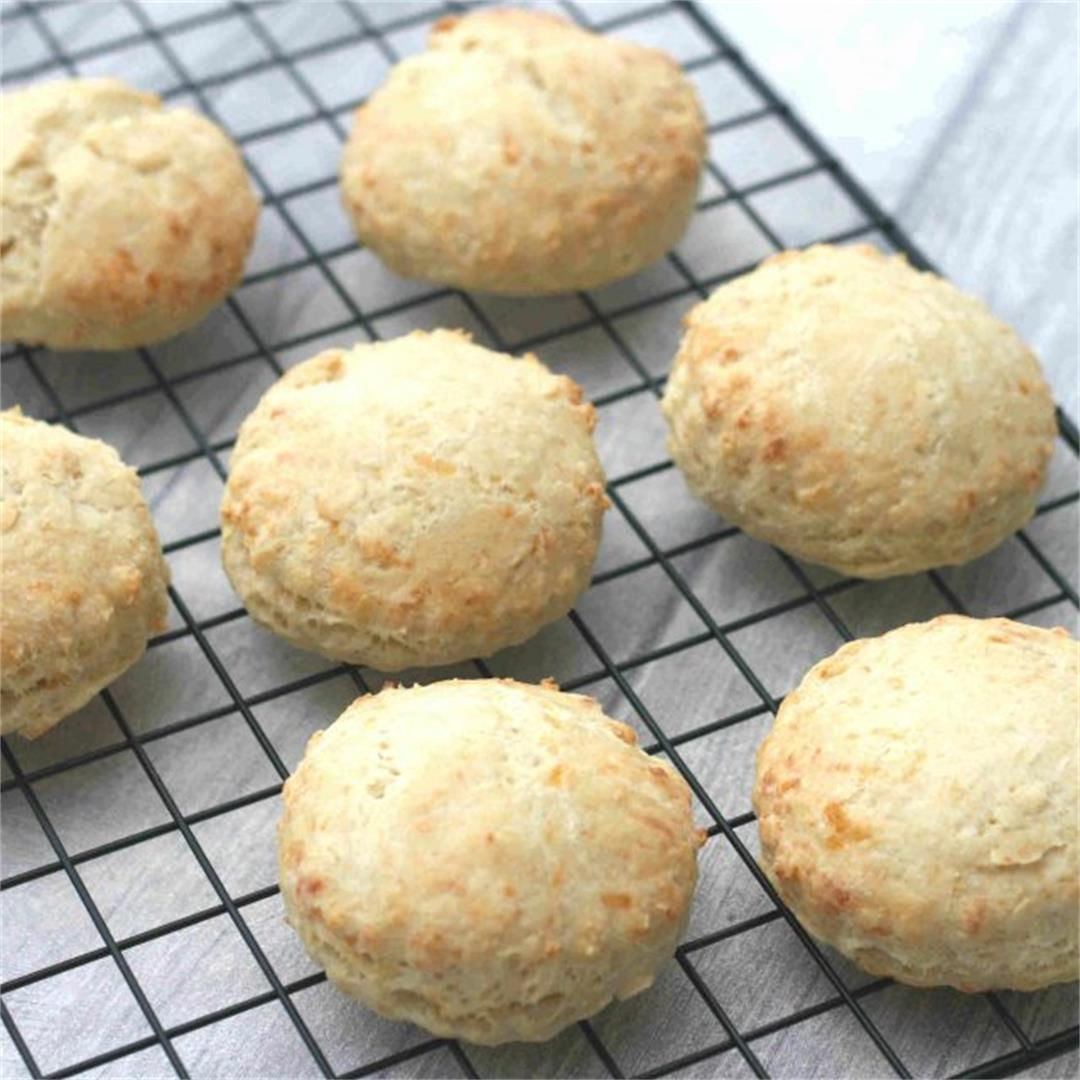 Cheese scones without baking powder