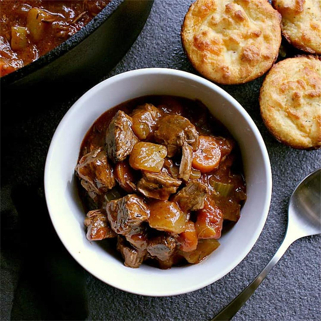 One Pot Low Carb Beef Stew