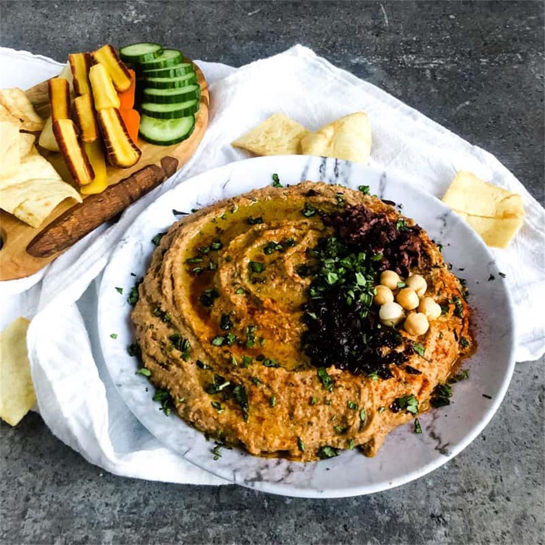 Mediterranean Hummus Recipe