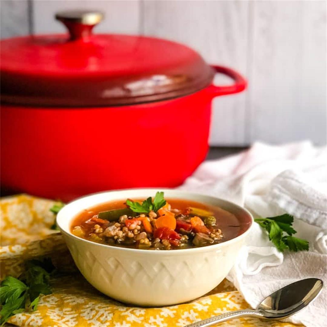 Vegetable Sorghum Soup