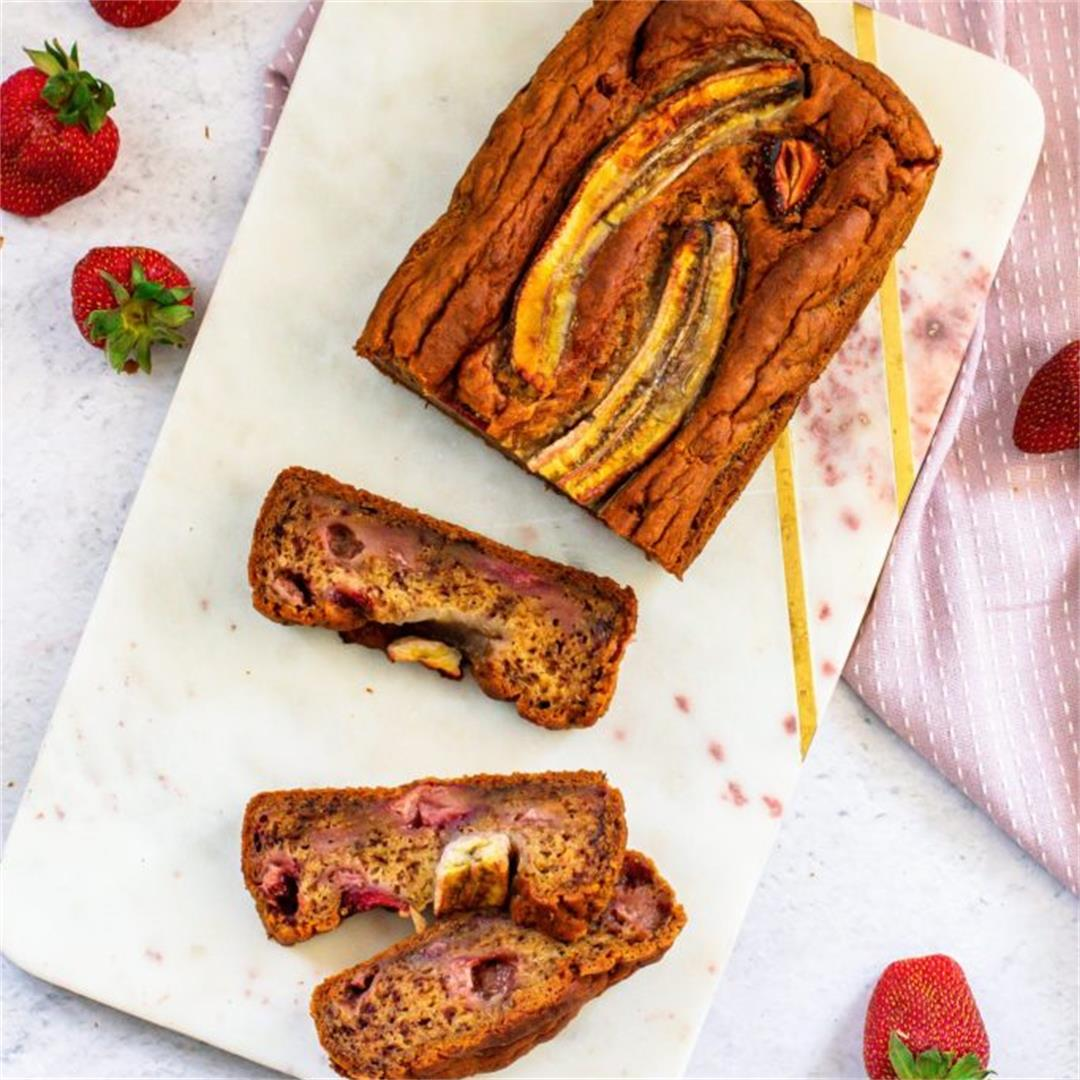 Strawberry And Banana Bread