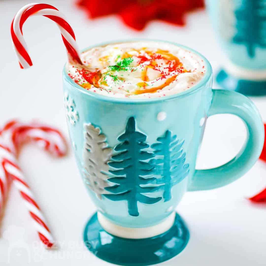 Spiked Butterscotch Homemade Hot Chocolate Recipe