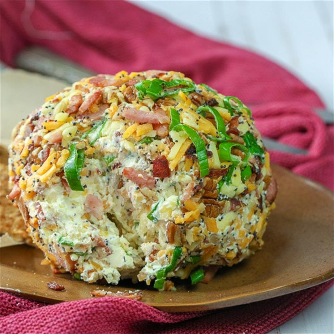 The Ultimate Keto Friendly Bacon Ranch Cheese Ball