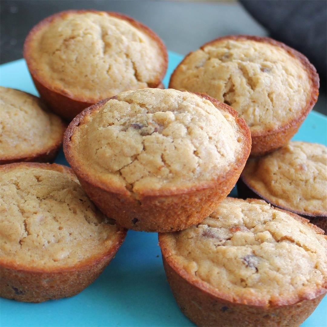 Honey Date Oat Muffins – My Recipe Reviews