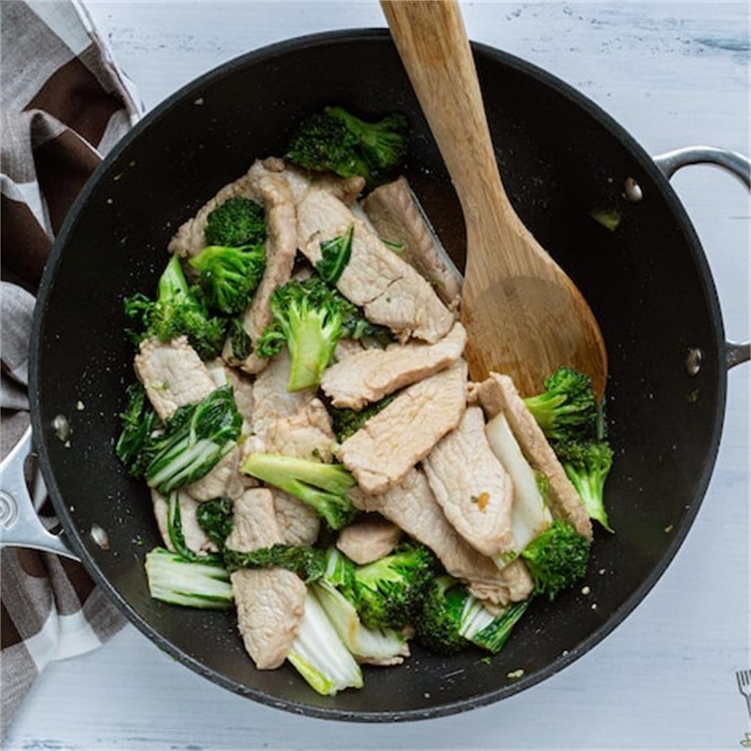 Easy Chinese Ginger Pork Stir Fry Recipe