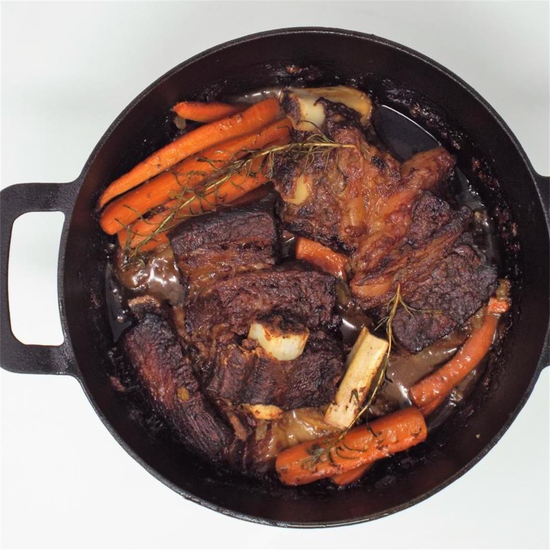 Rosemary and Garlic Beef Short Ribs