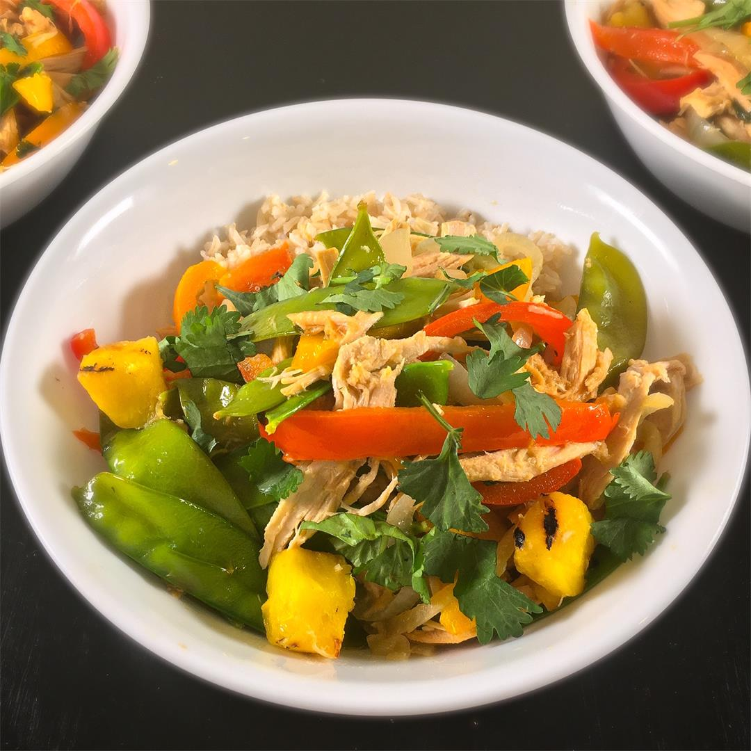 Easy Stir Fry Vegetables Recipe with Chicken