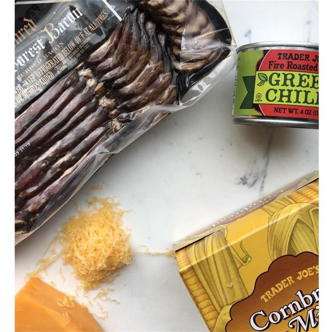 Bacon Cheddar Cheese Cornbread