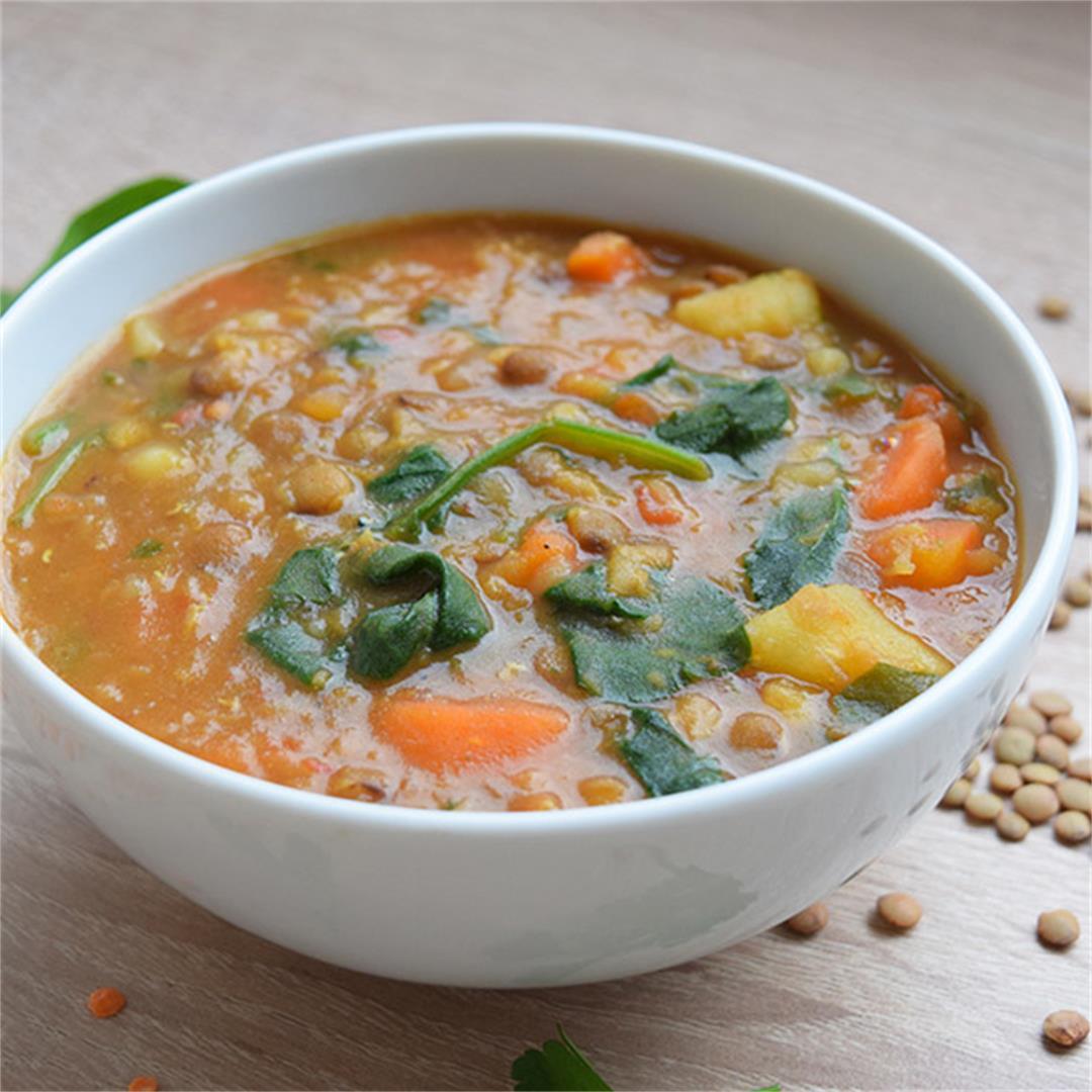 A&D Kitchen Vegetable Lentil Soup