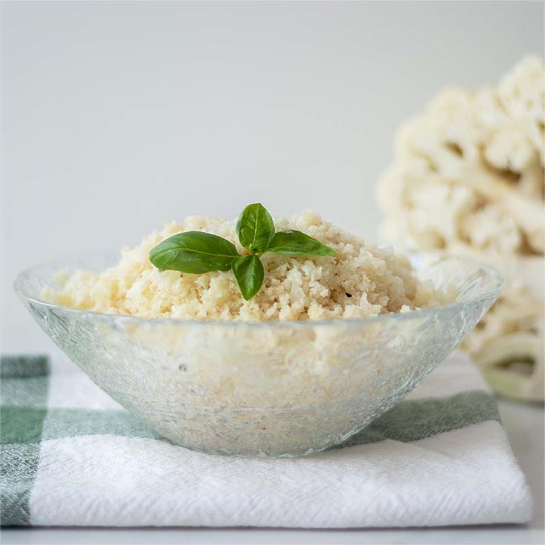 How To Make Cauliflower Rice For Batch Cooking