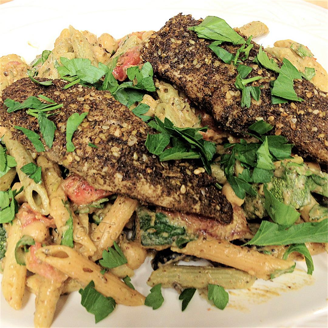 Za'atar Chicken & Pasta Salad