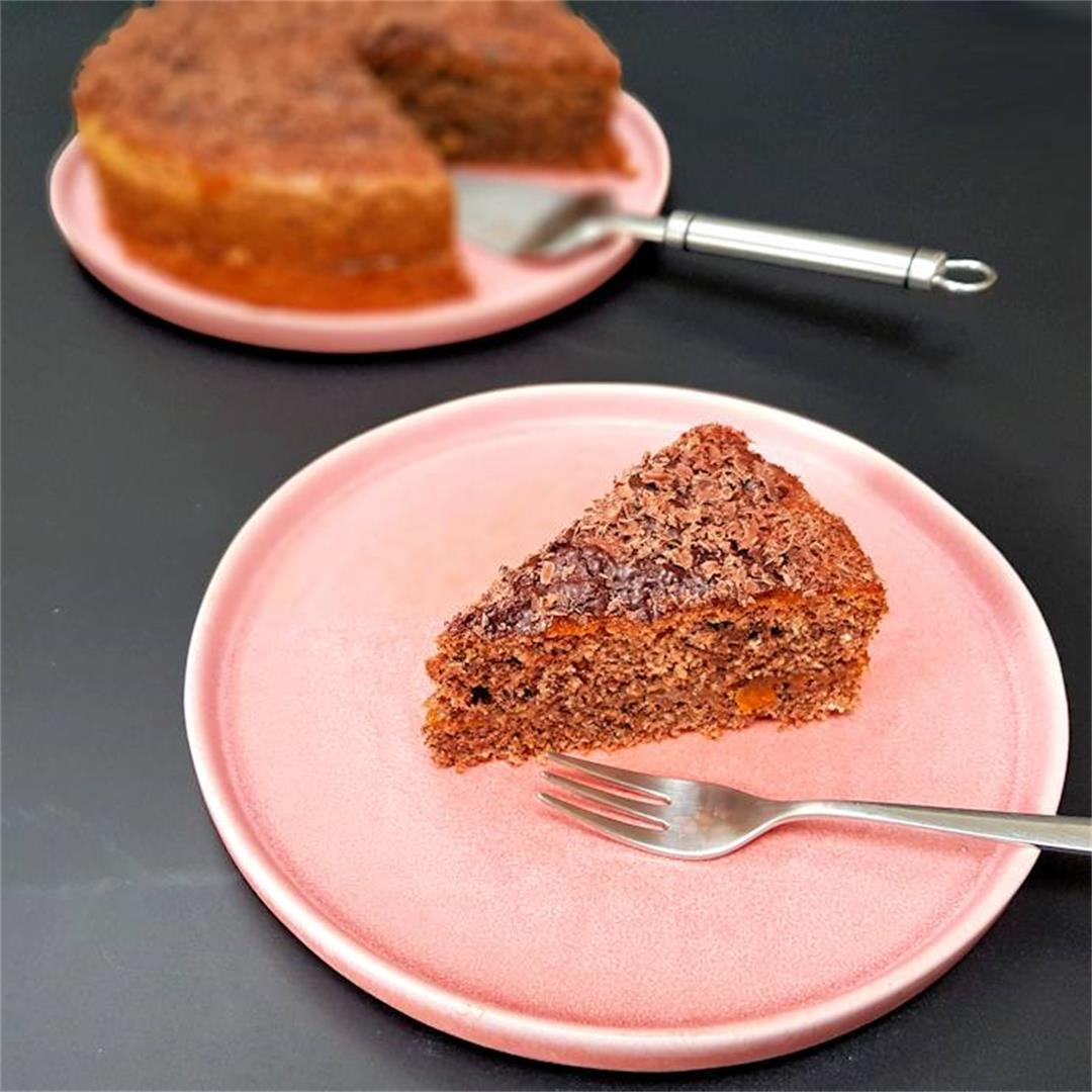 flourless walnut cake