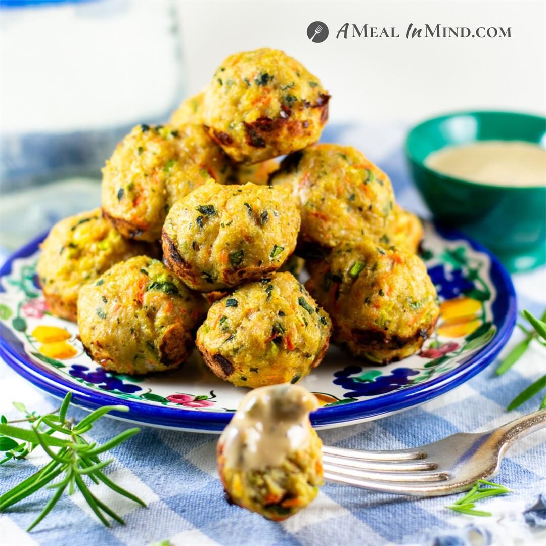 Chicken-Vegetable Meatballs
