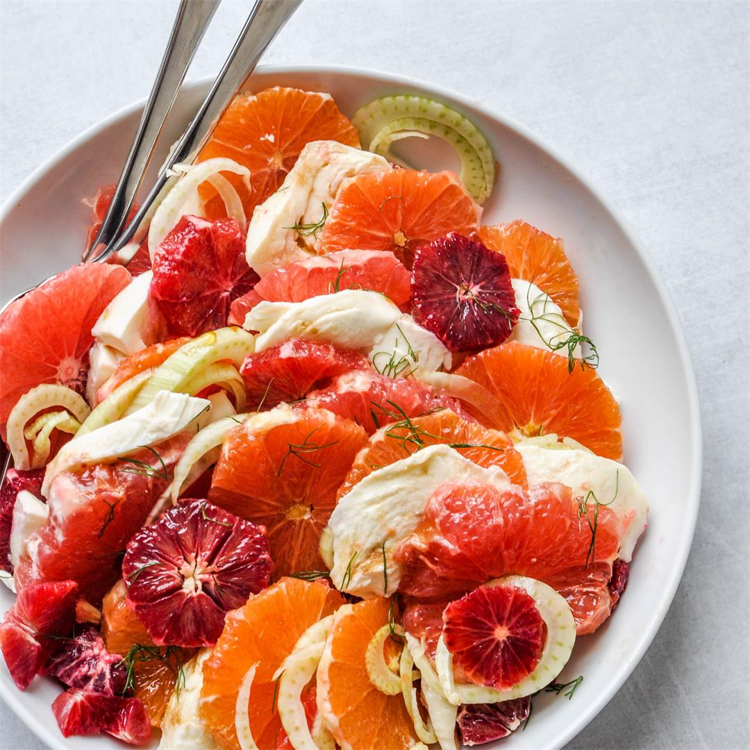 Citrus & Fennel Salad Recipe