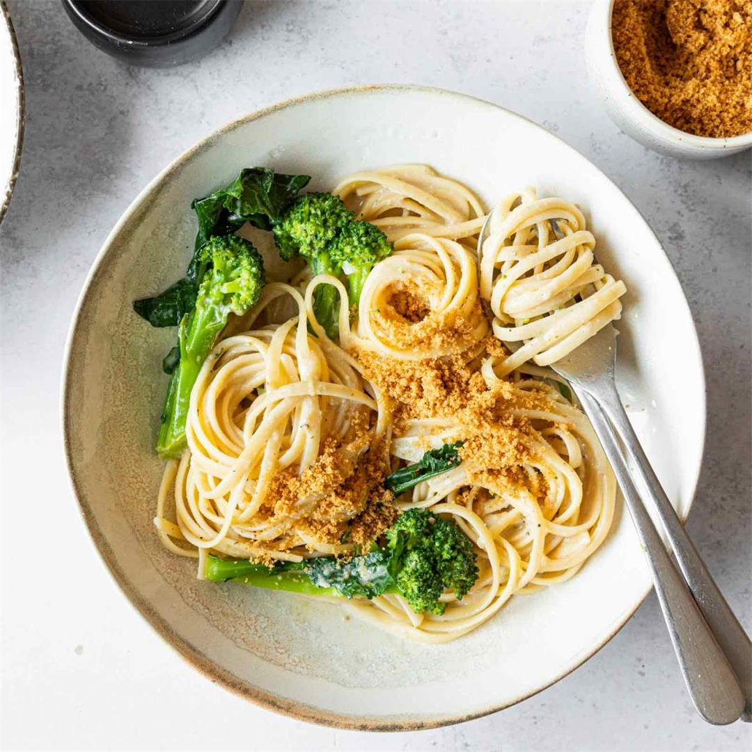 Lemon Pasta with Broccoli and Anchovies