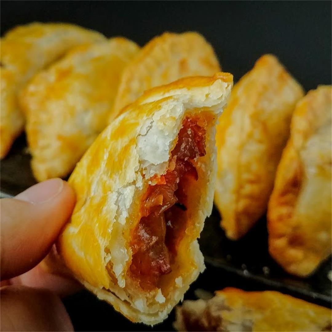 Chinese BBQ Pork Pastry