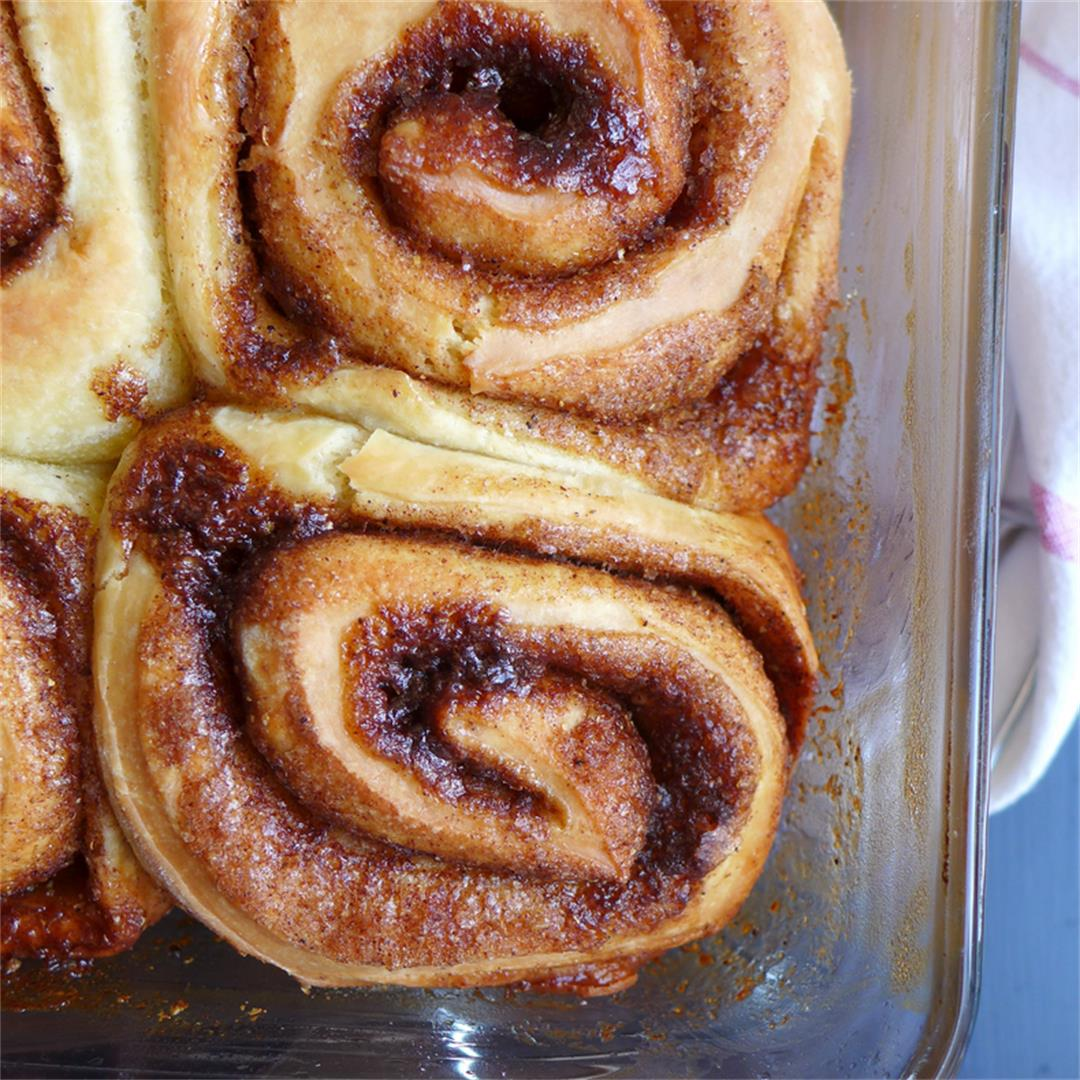 Gingerbread Spice Rolls