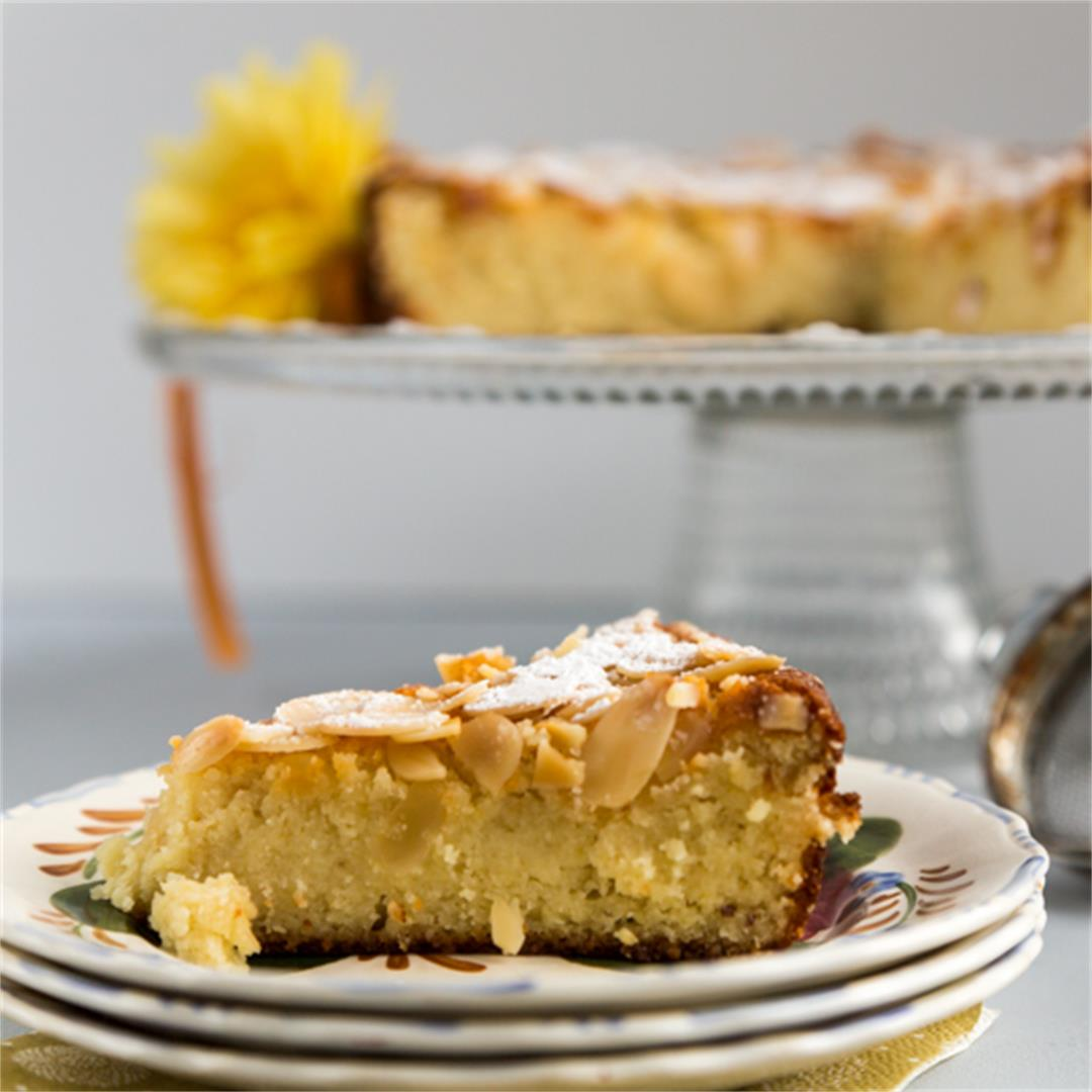 FLOURLESS LIMONCELLO RICOTTA CAKE ~ Comfort & Peasant