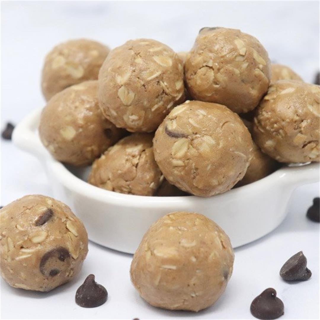 Almond Butter Protein Bites
