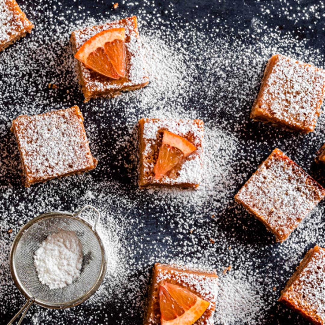 Grapefruit Campari Bars