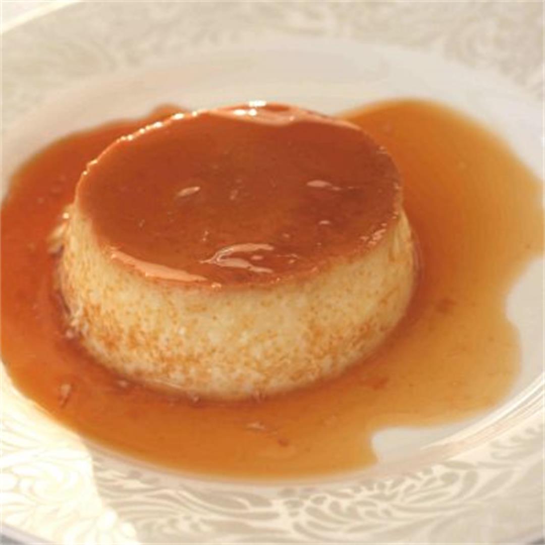 Creme caramel dessert recipe