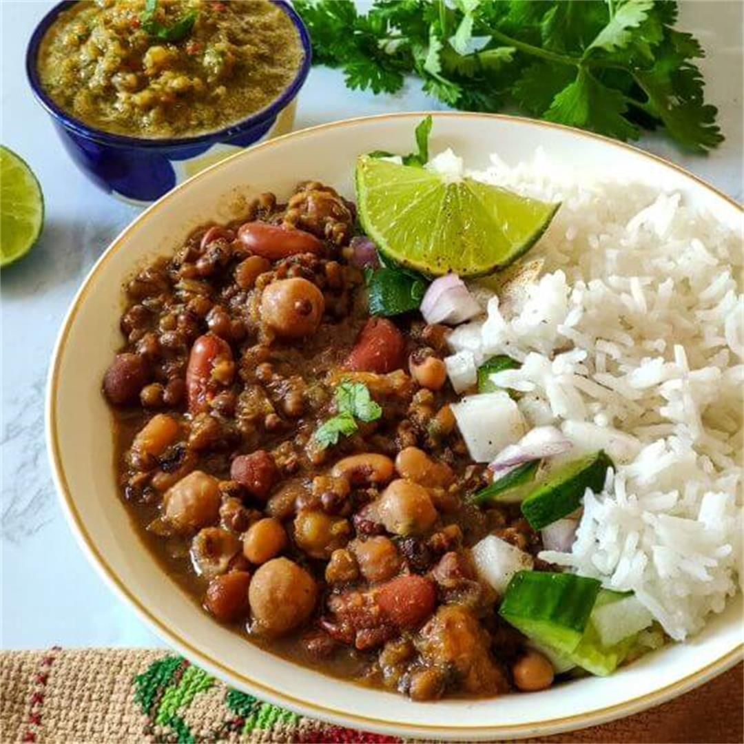 Indian beans curry