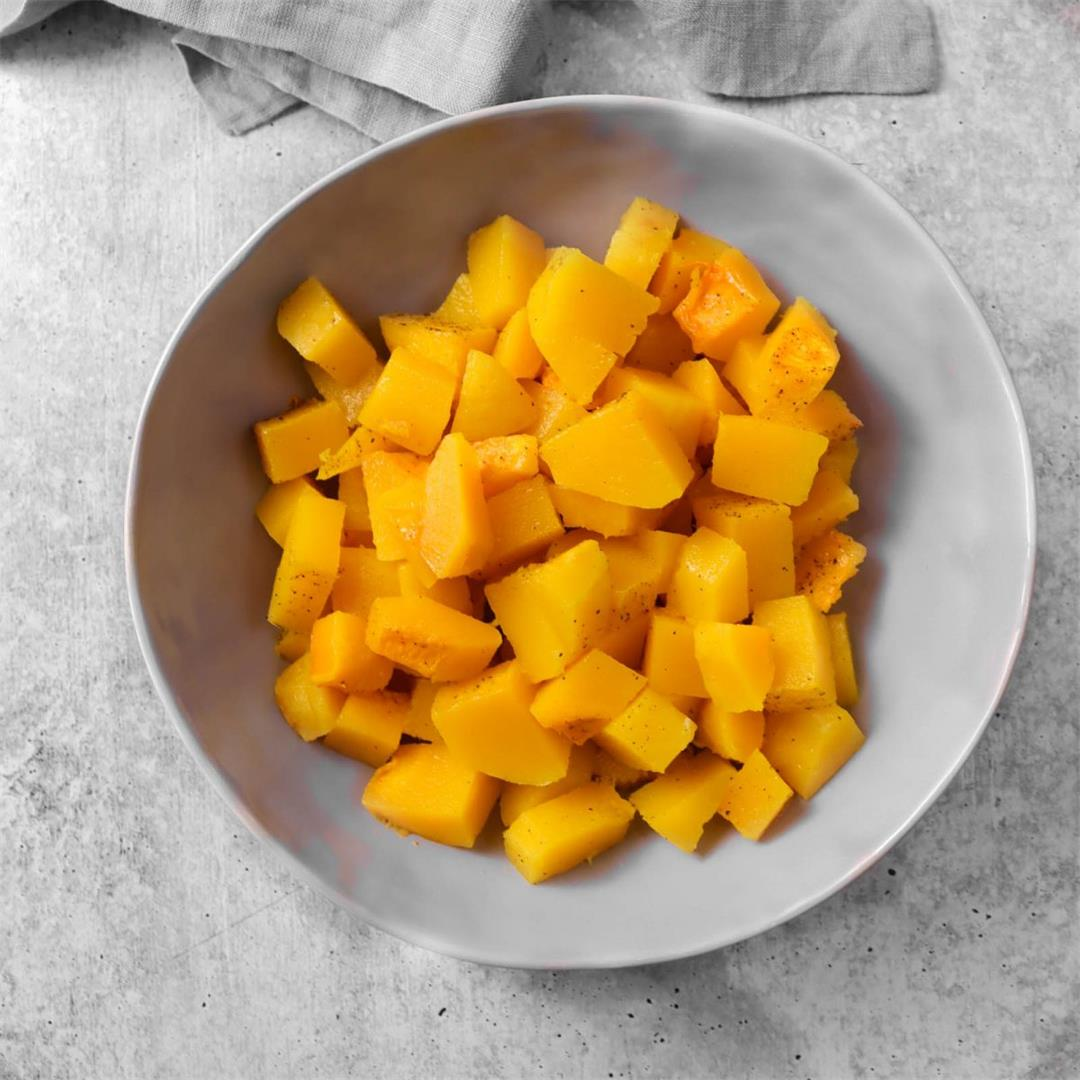 Simple Oven Roasted Butternut Squash