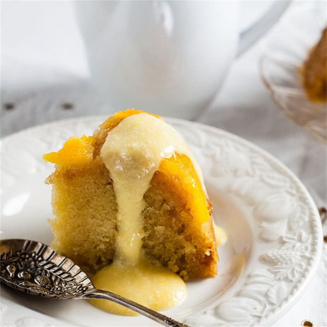 Orange and Stem Ginger Pudding
