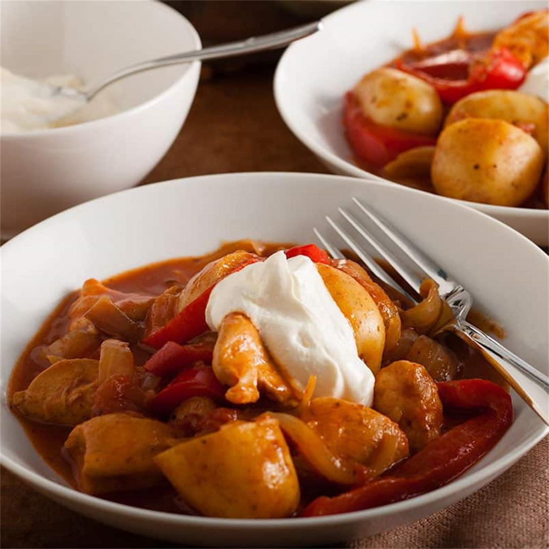 Recipes Made Easy – Chicken and Potato Goulash