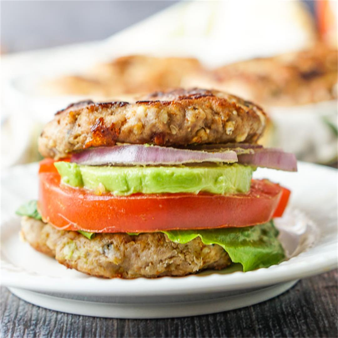 Everything Spice Keto Turkey Burger Recipe
