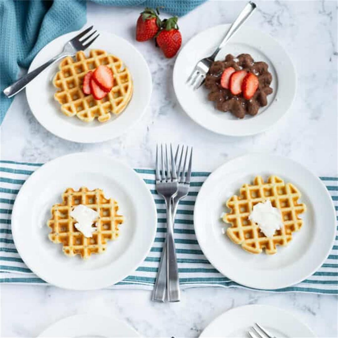 Mini Keto Waffles