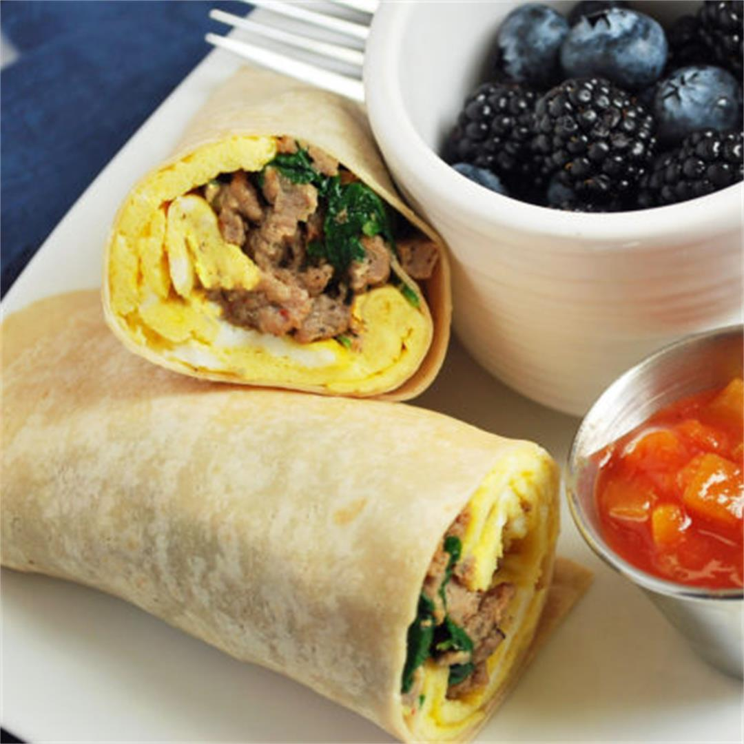 Easy Low-Carb Breakfast Burritos