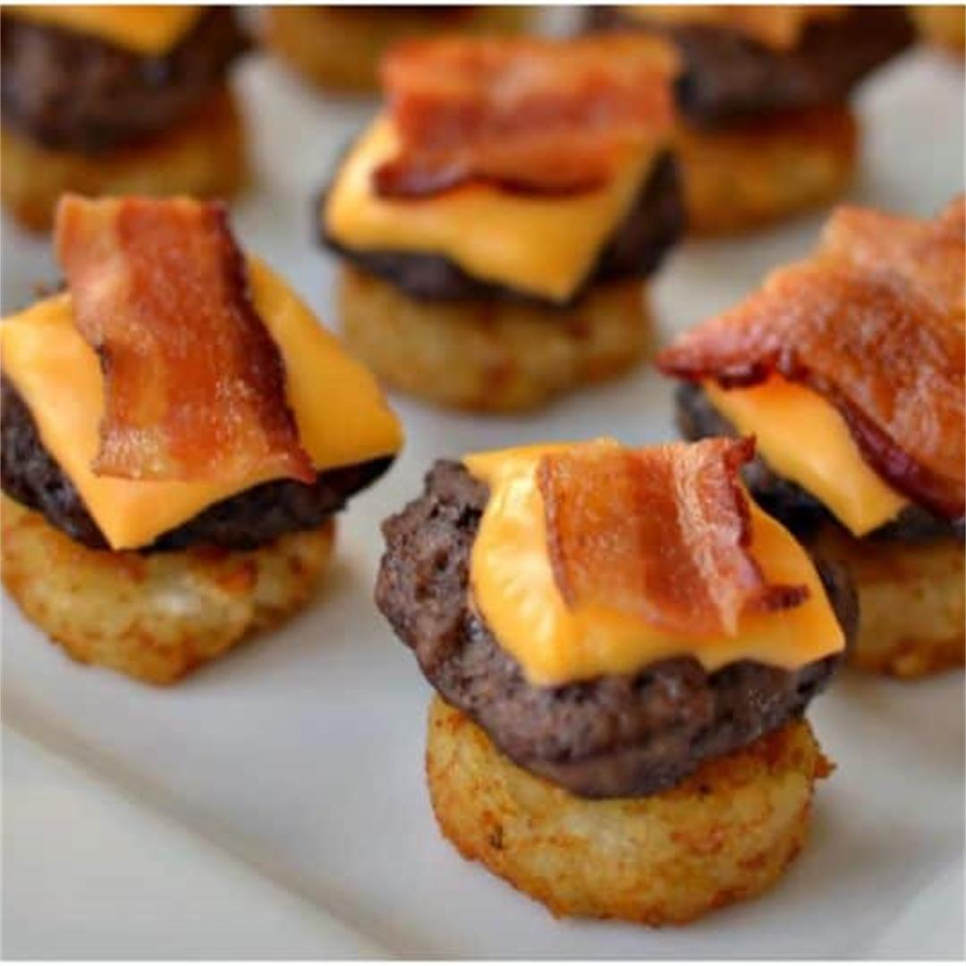 Mini Bacon Cheeseburger Bites