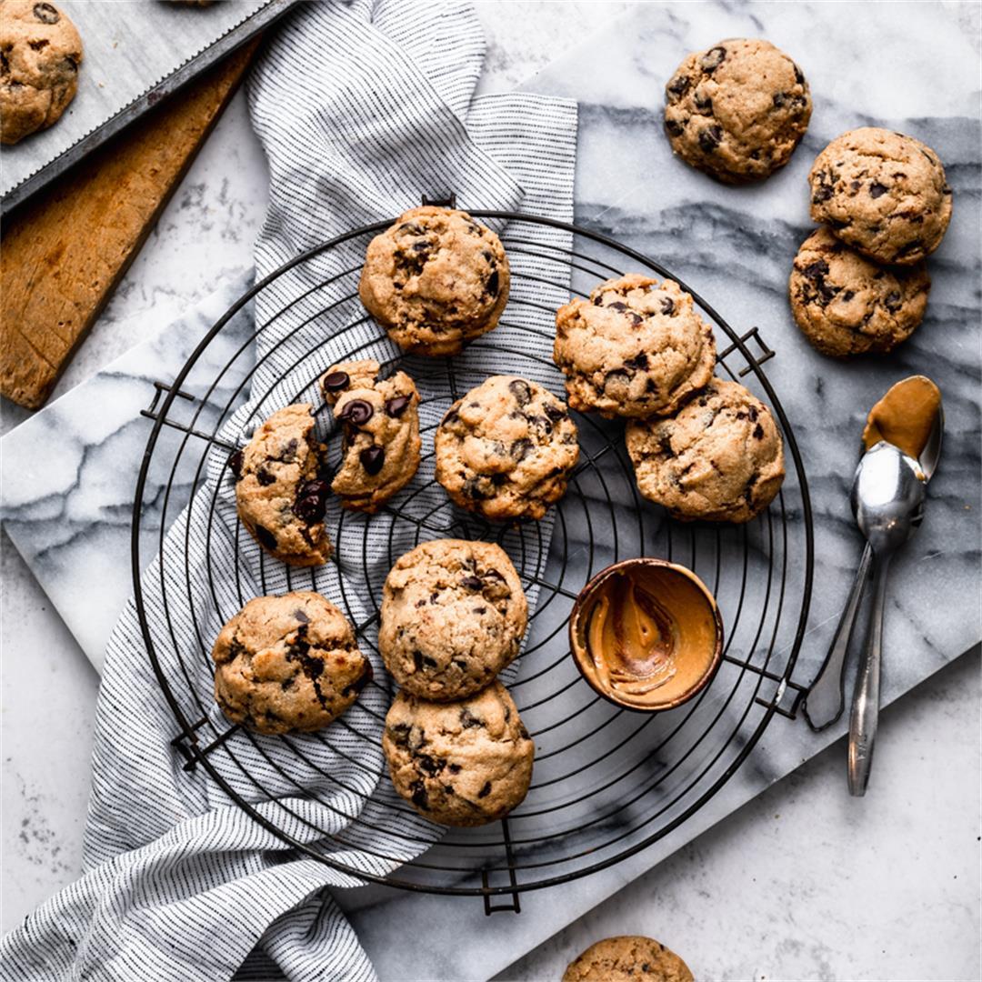 Cashew Butter Cookies Gluten Free Vegan